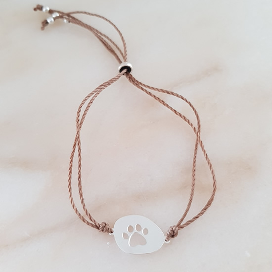 Door Roos armband dog love