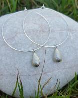 Oorbellen Door Roos  silver drops